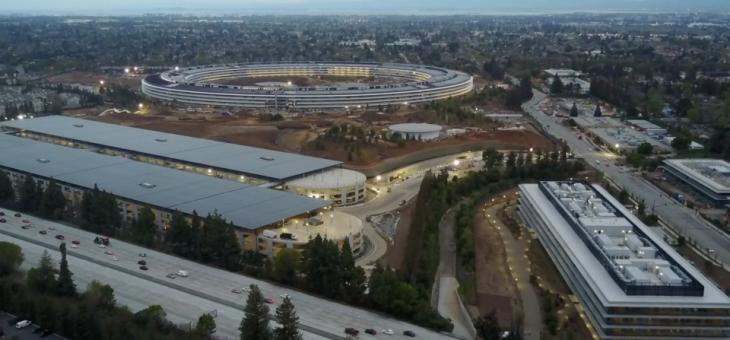 Novedades del nuevo Apple Park