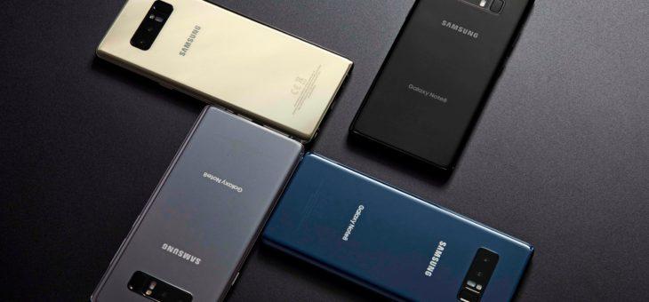 Todo lo presentado en el #SamsungUnpacked del Galaxy Note 8
